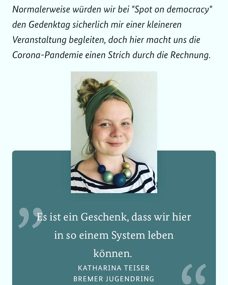 Auszug aus Katharinas Interview